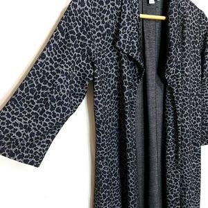 Andria Lieu Collection Lepordprint Cardigan